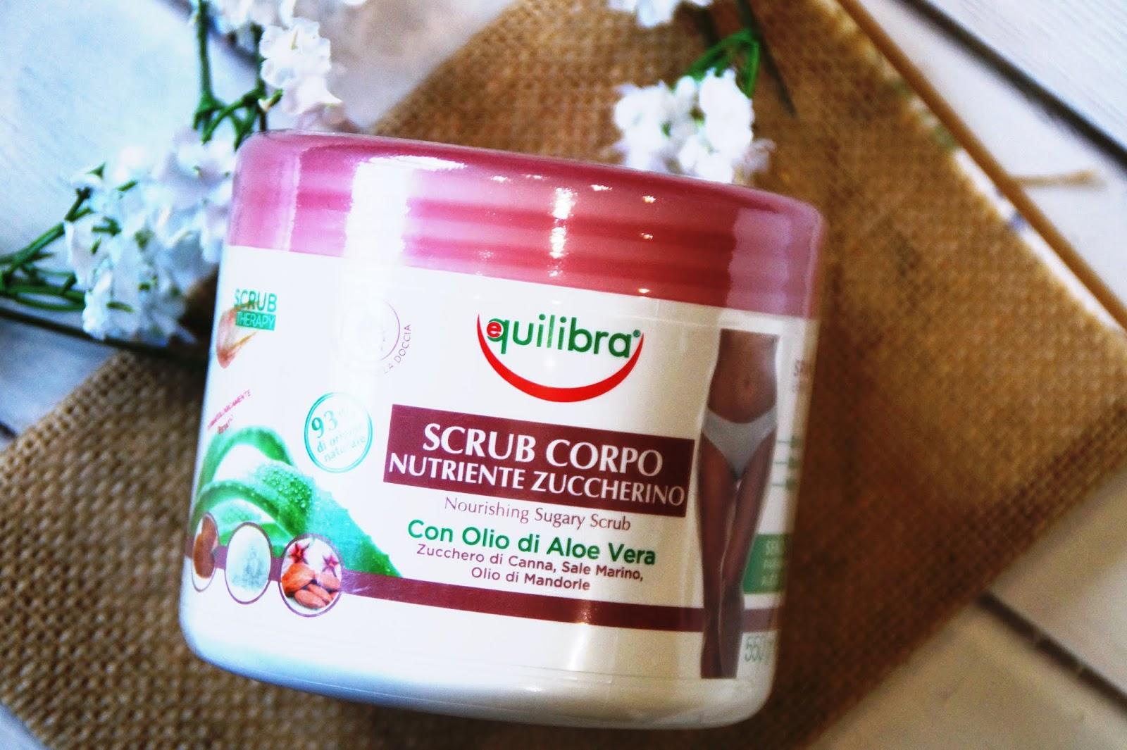 Equilibra: Peeling cukrowy // arganowa pianka oczyszczająca
