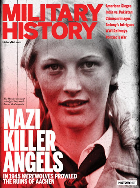 Assassin Ilse Hirsch on the cover of Military History magazine worldwartwo.filminspector.com