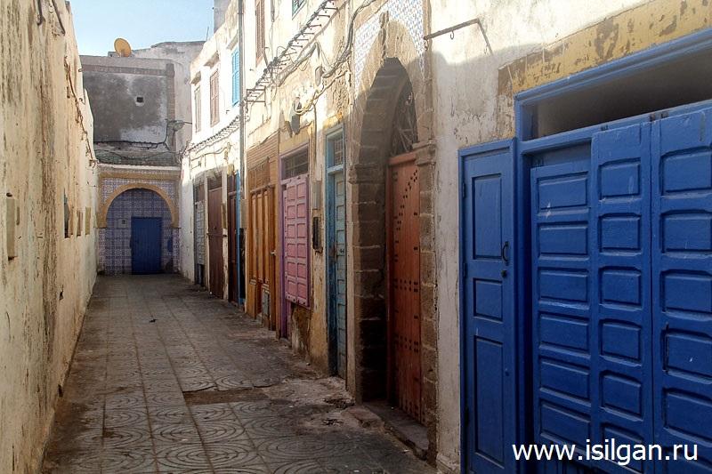 Город Эссуэйра (Essaouira). Марокко