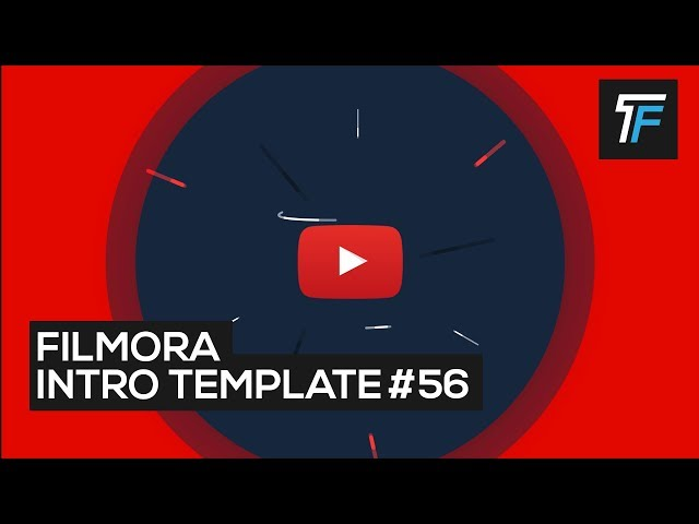 Great professional Filmora Intro Template For YouTube