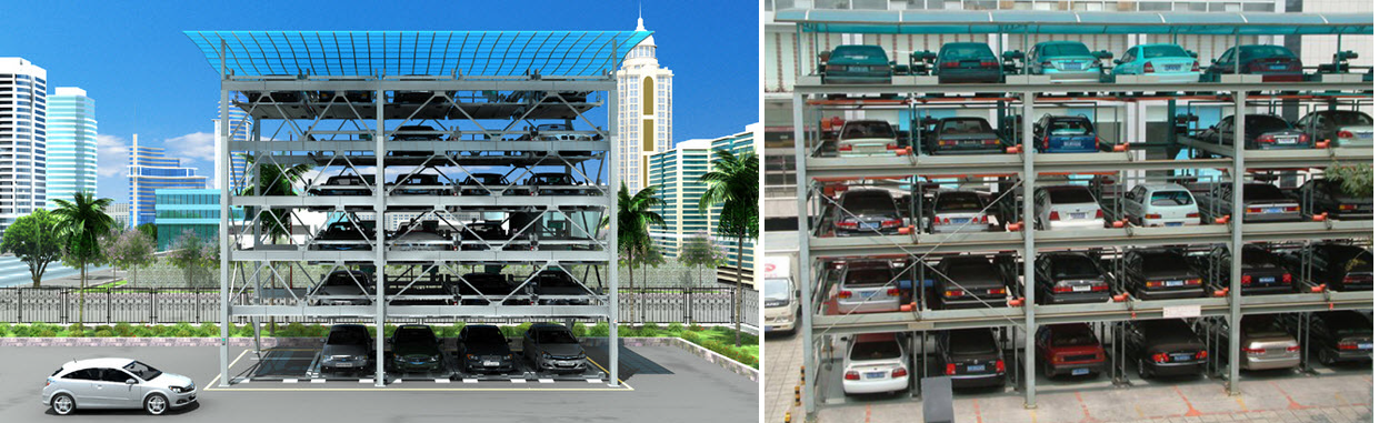 Bãi đỗ xe thông minh Risemount Apartment Đà Nẵng
