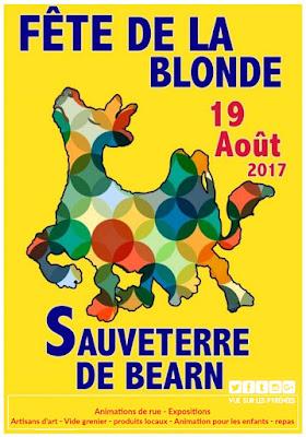 Sauveterre de Béarn fête la Blonde d'Aquitaine 2017
