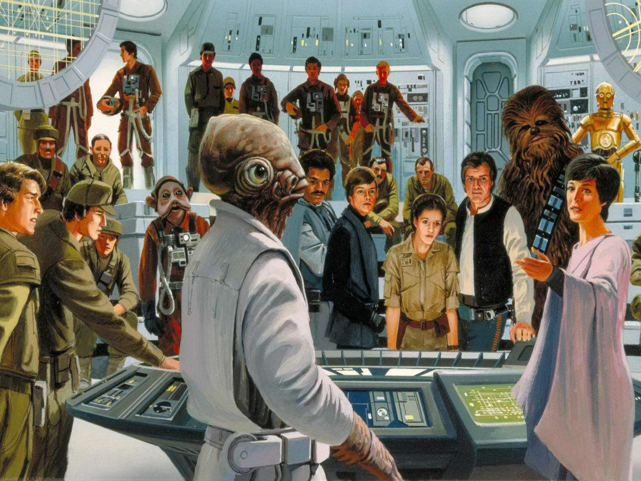 The Star Wars Culture: Star Wars Concept Art Ralph McQuarrie