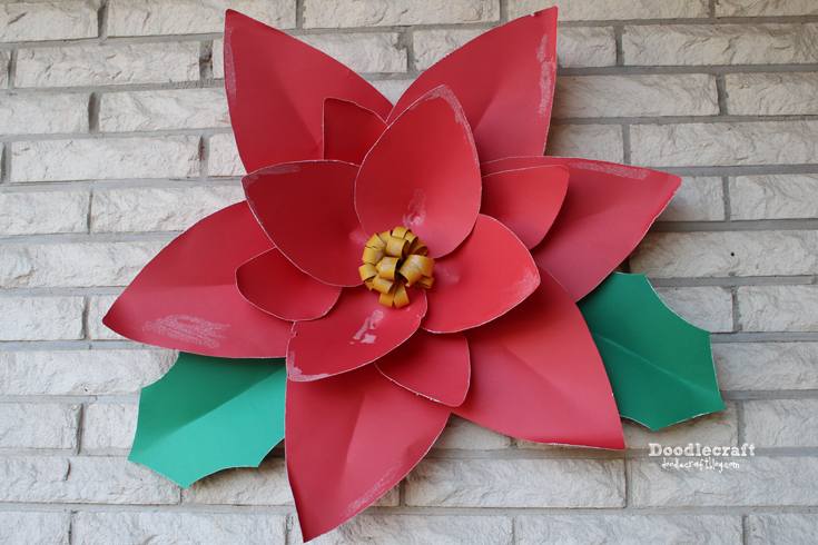 Doodlecraft giant paper poinsettia giant paper poinsettia mightylinksfo