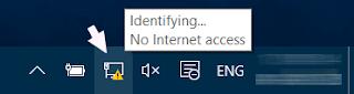 حل مشكلة وصل الانترنت بالكومبيوتر محدود Limiteé عند تركيب كابل RJ45