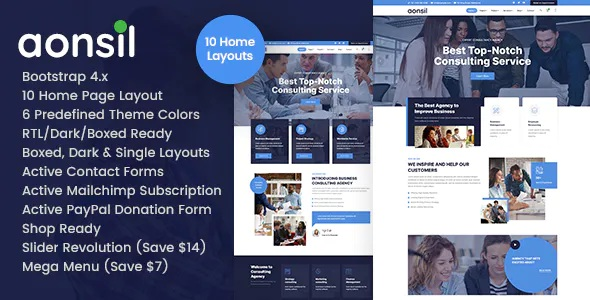 Besst Business Consulting HTML Template