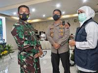 Forkopimda Jatim Pimpin Rakor Anev Penanganan Covid-19 di Madiun