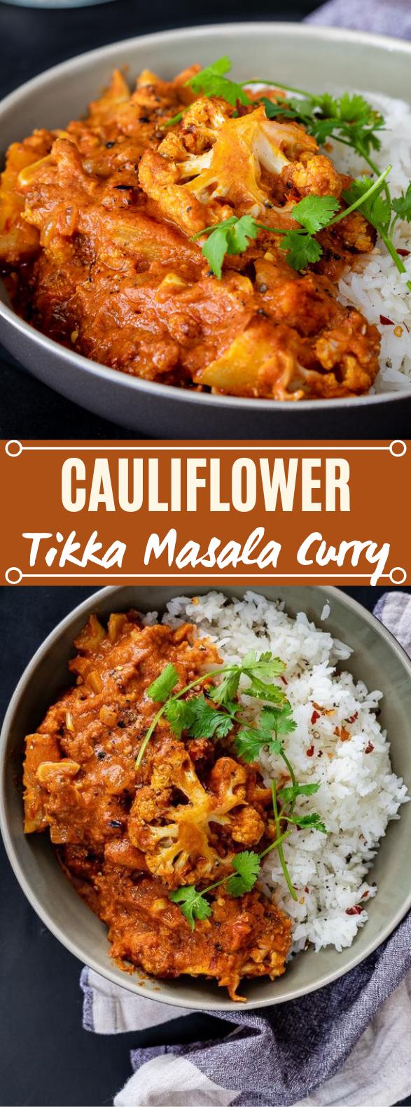 CAULIFLOWER TIKKA MASALA CURRY #vegetarian #curry