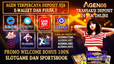 Agen86 Gacor Online Slot Dan Live Casino Terpercaya!