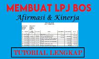 Tutorial Input BKU LPJ BOS Afirmasi dan Kinerja
