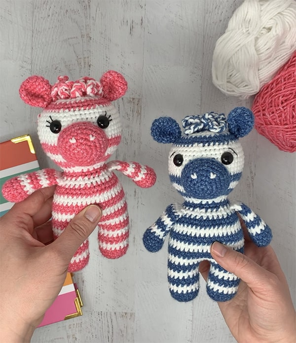 Amigurumi Zebra Crochet Free Patterns • DIY How To | 694x600