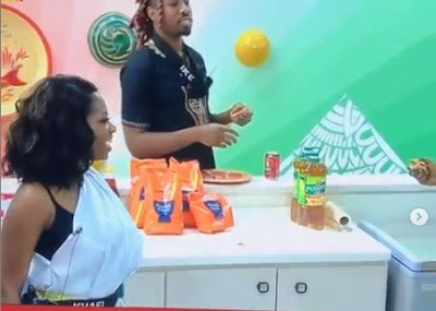 "#BBNaija: ""I Have Made Out With Gedoni Under The Duvet"" - Khafi Said As Housemates Tease Her"