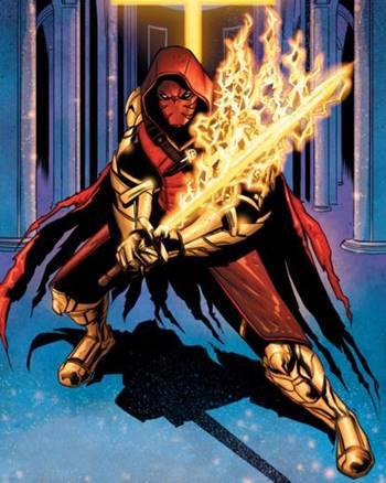 Azrael es miembro de la Bat-Familia