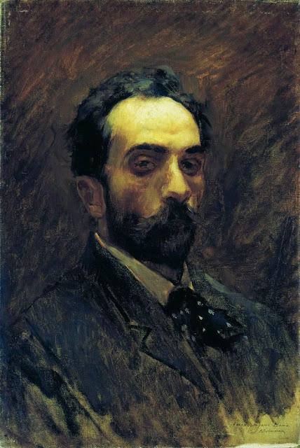 Исаак Ильич Левитан - Автопортрет. 1890-е