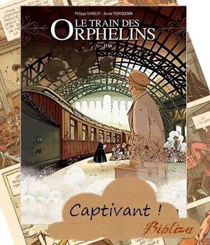 le train des orphelins Charlot Fourquemin Bamboo Orphan Train Riders chronique avis blog littéraire