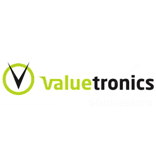 VALUETRONICS HOLDINGS LIMITED (BN2.SI) @ SG investors.io