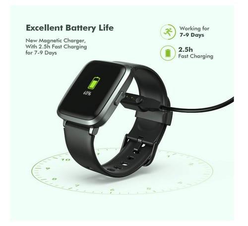 dodocool life Fitness Tracker IP68 Waterproof Smartwatch