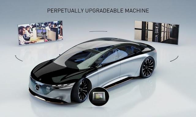 Mercedes-Benz Berkolaborasi Dengan NVidia Ciptakan Mobil Swakemudi