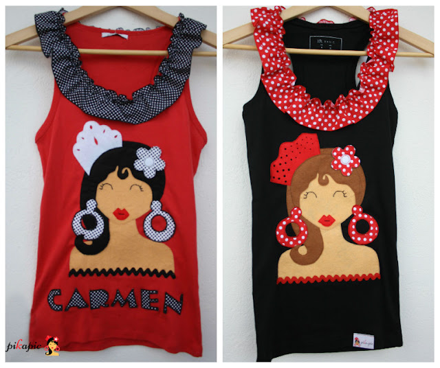Camisetas flamencas despedida de soltera