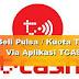Cara Beli Pulsa dan Ambil Cashback di TCASH Telkomsel