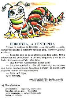 Leitura Doroteia a centopeia
