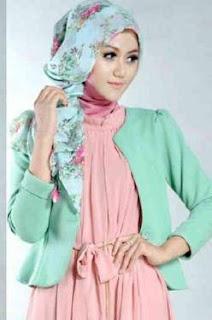 Blazer Wanita Muslimah Modern