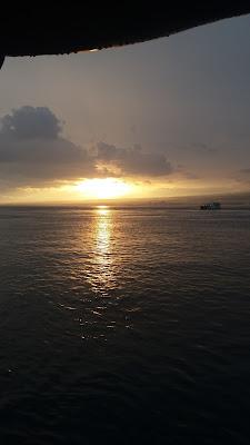 Laut Bali Senja Hari