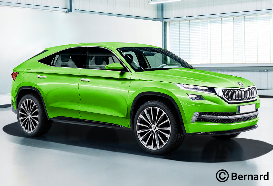 Bernard Car Design 2019 Skoda Kodiaq Coupe