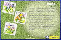História copas nos selos correios