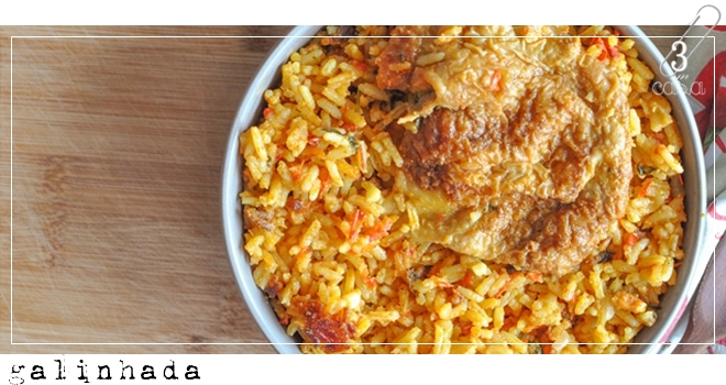 receita de galinhada simples