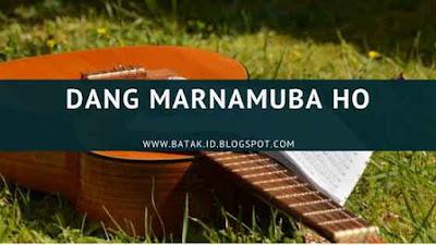 Lirik Dang Marnamuba Ho
