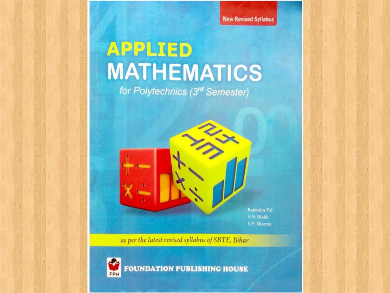 Applied Mathematics book download free