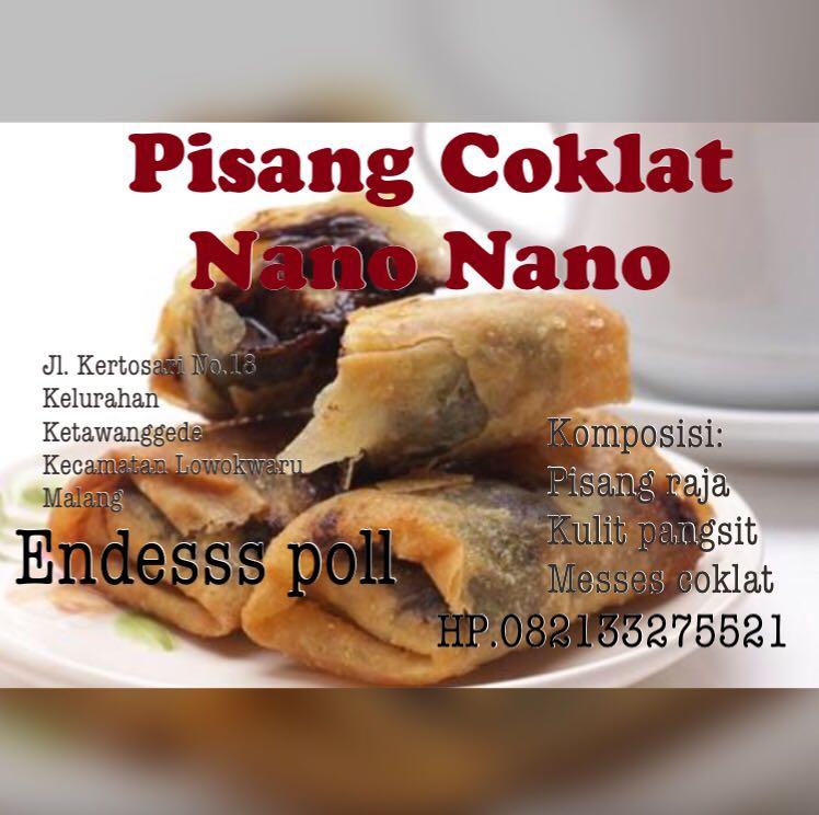 87+ Gambar Pisang Coklat Nano Nano Paling Hist
