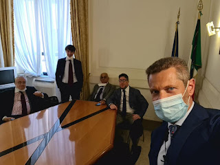 Mit incontra Comitato Salviamo Genova e la Liguria