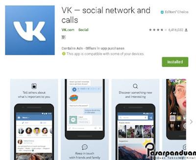 cara daftar akun vkontakte melalui aplikasi