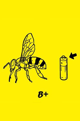 bee positive best simple iphone wallpapers  5s 5c 6