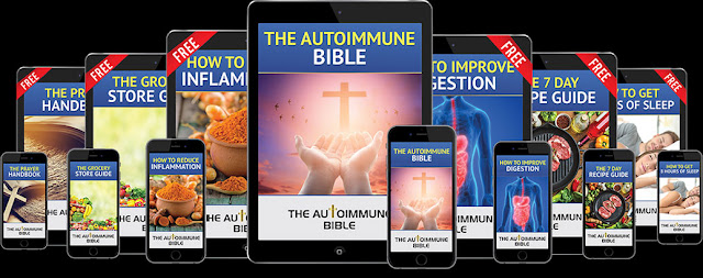 """E-book Products - The Autoimmune Bible """"3-Ingredient Recipe"""" Can Fight The Root Cause Of Autoimmune Diseases"""