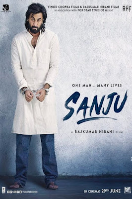 Sanju 2018 Hindi 720p BRRip 1Gb ESub x264