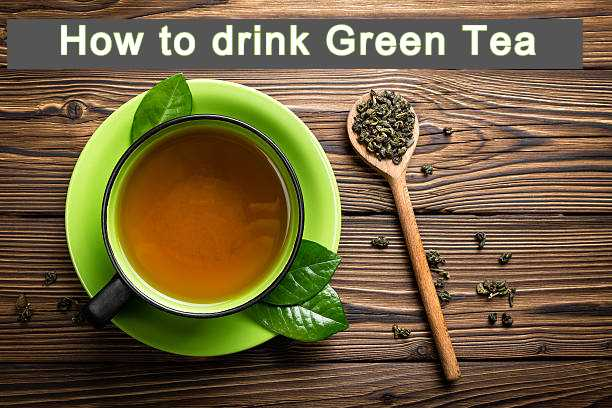 how to drink green tea to reduce obesity/belly fat ?