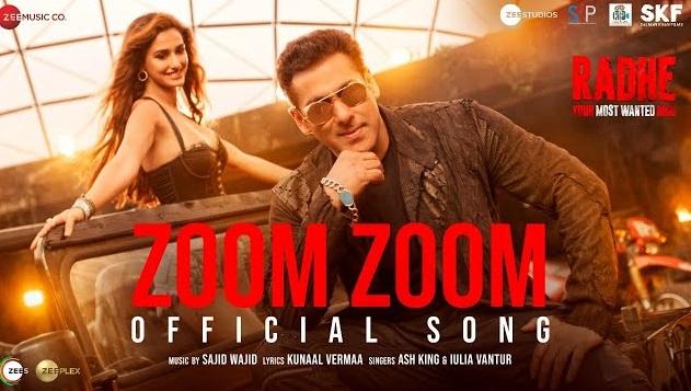 Zoom Zoom Lyrics - Radhe ft Salman Khan