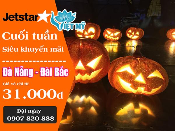 Jetstar khuyến mãi Đà Nẵng đi Đài Bắc 31.000 đồng