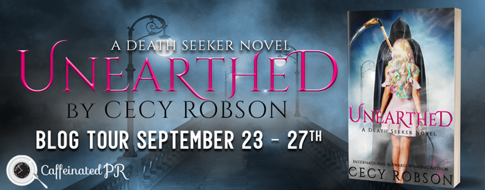 Unearthed Book Tour
