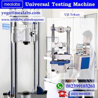 Mengenal Alat Uji UTM Universal Testing Machine