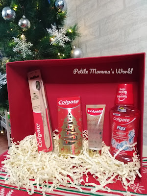 Colgate Christmas toothpaste at shopee