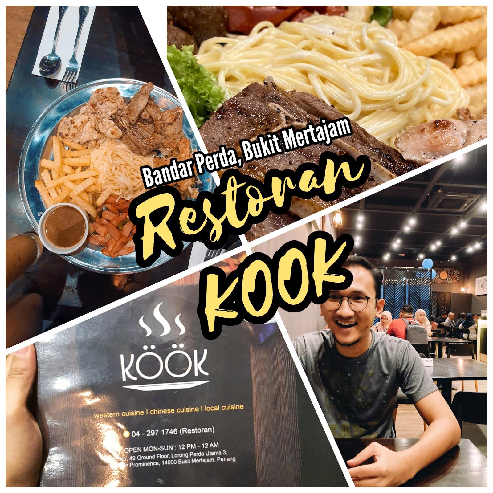 Kedai Makan Western Best di Penang | Pengalaman Bak Makan Di Hotel @ Restoran Kook