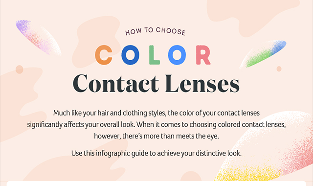 How to Choose Color Contact Lenses