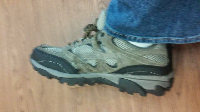 f6c89402e0de This made the Ozark Trail Trail Low Profile Hiking Boot much more  comfortable.