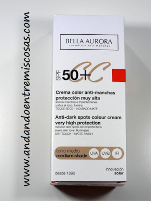 CC Cream De Bella Aurora