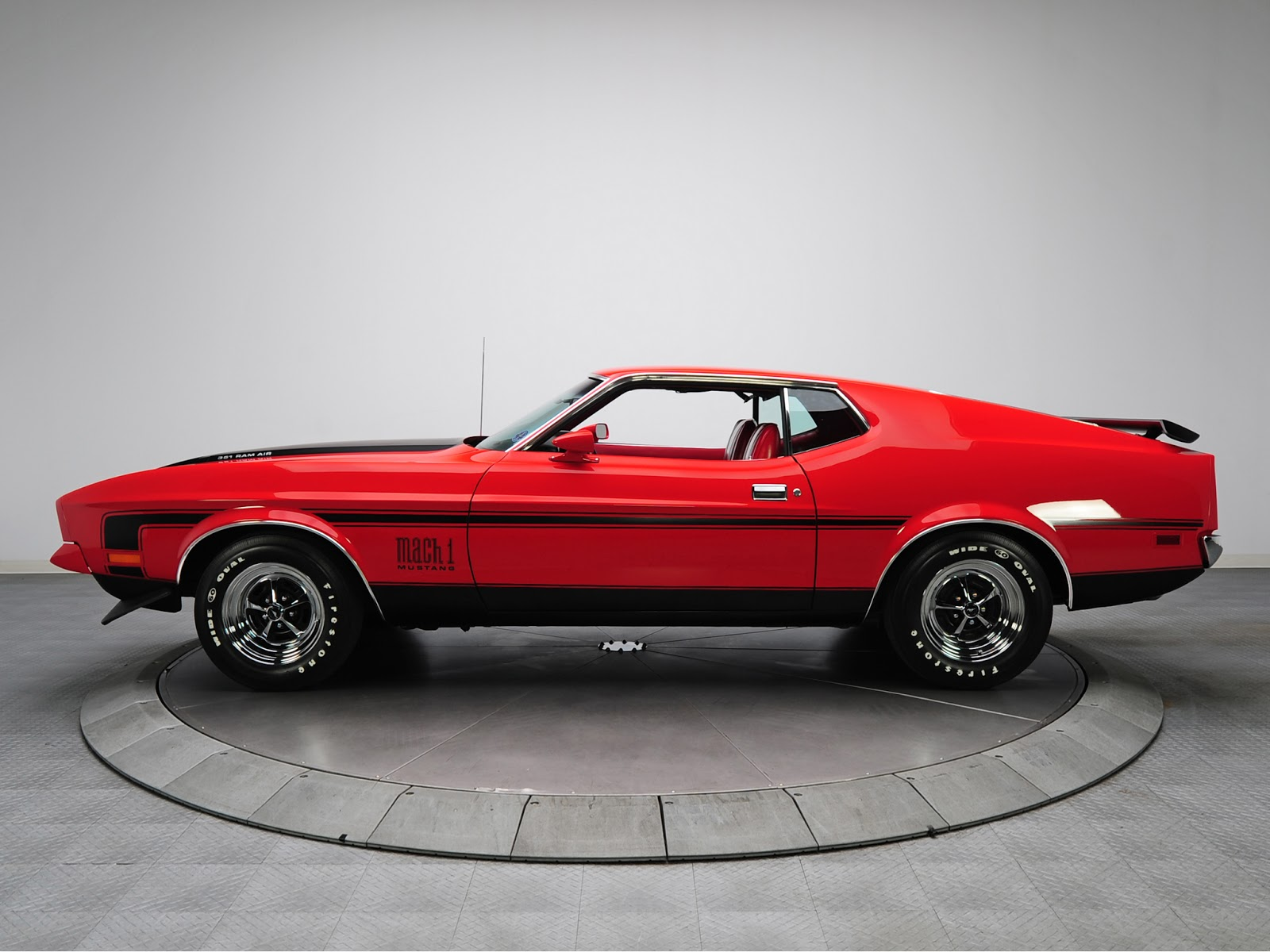 Mustang 2013 Front Bumper >> FAB WHEELS DIGEST (F.W.D.): Ford Mustang Mach 1 - 2nd Gen. (1971-73)