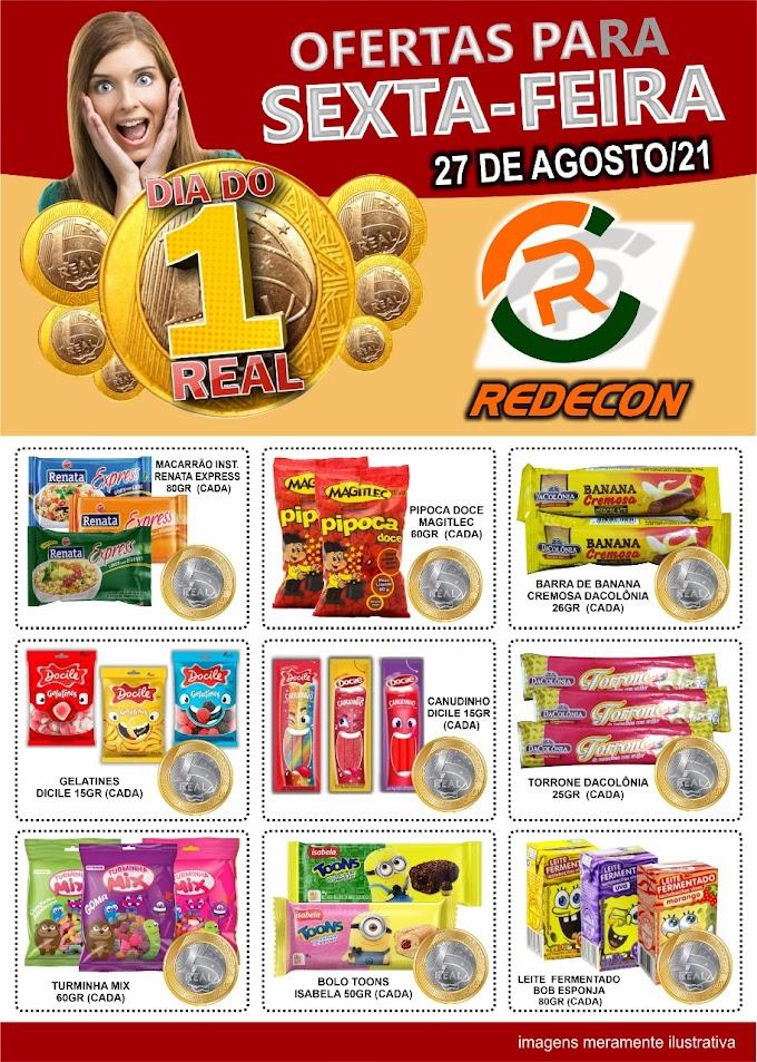 Confira as ofertas da REDECON para esta sexta-feira, 27